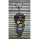 Porte clés jamaïcain debout
