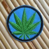 Patch feuille unicolore