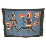 Batik tribal femmes et masques