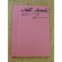 Carnet papier naturel rose