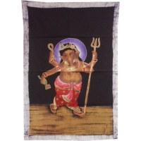 Petit batik color Ganesh debout