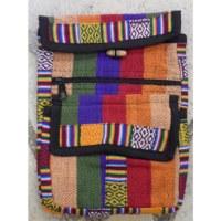 Sacoche népalia weaving bigarré