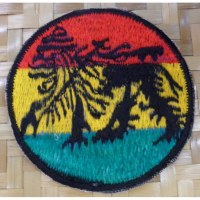 Patch lion rasta
