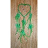 Dreamcatcher 9 coeur vert