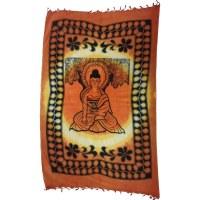 Tenture tie and dye bouddha l'éveillé