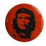 Badge Che Guevara red