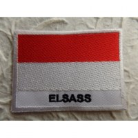 Mini écusson drapeau Alsace