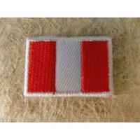 Mini écusson drapeau Pérou