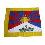 Drapeau du Tibet brodé M
