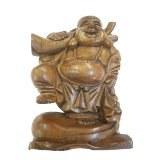 Bouddha l'affectueux pied droit levé
