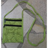 Sac vert motif cercle