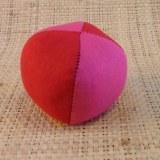 Balle de jonglage bicolore