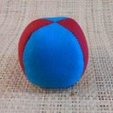 Balle de jonglage 2 couleurs