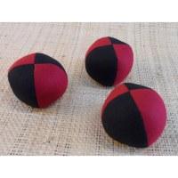 Lot de 3 balles de jonglage bicolore