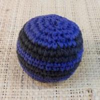 Balle de jonglage crochet bicolore