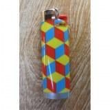 Briquet psyké cubes color