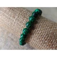 Bracelet mala malachite