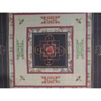 Tenture Chitwan bleu Bouddha eyes