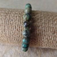 Bracelet mala turquoise africaine