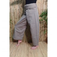 Pantalon de pêcheur Thaï mastic
