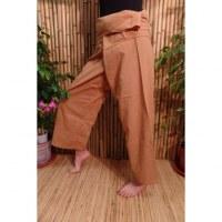 Pantalon de pêcheur Thaï sépia