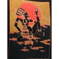 Paréo batik chaman