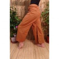 Pantalon de pêcheur Thaï rouille