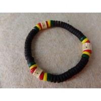 Bracelet surfeur rasta Uluwatu 5
