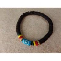 Bracelet surfeur rasta Kuta 9