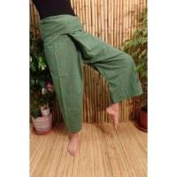 Pantalon de pêcheur Thaï gazon