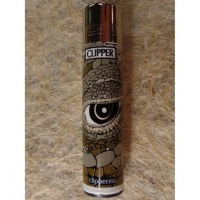 Briquet animal eye kaki