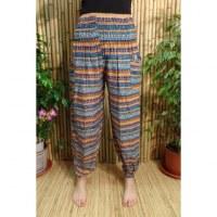 Pantalon Buriram bleu fantaisie