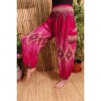 Pantalon Buriram bordeaux