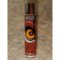 Briquet animal eye marron