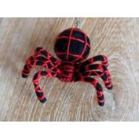 Porte clés araignée noire