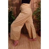 Pantalon de pêcheur Thaï paille