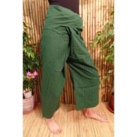 Pantalon de pêcheur Thaï persil