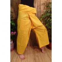 Pantalon de pêcheur Thaï bouton d'or
