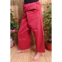 Pantalon de pêcheur Thaï tomette