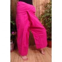 Pantalon de pêcheur Thaï rose vif