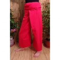 Pantalon de pêcheur Thaï fraise