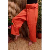 Pantalon de pêcheur Thaï orange