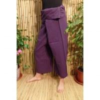 Pantalon de pêcheur Thaï violet