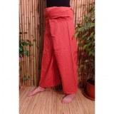 Pantalon de pêcheur Thaï orangé