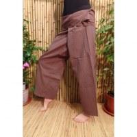Pantalon de pêcheur Thaï cacao