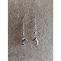 Boucles d'oreilles dauphin