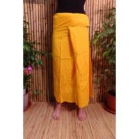 Jupe Thaï jaune soleil
