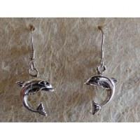 Boucles d'oreilles dauphins