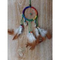 Attrape rêves Sioux arc en ciel