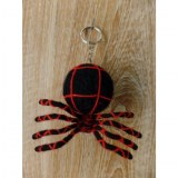 Porte clé big araignée noire